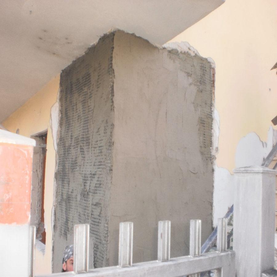 Intervento ricostruzione sisma